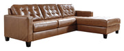 Baskove Sectional - Canales Furniture