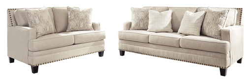 Claredon Sofa and Loveseat - Canales Furniture