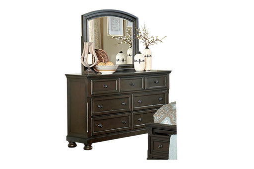 Cristian Dresser and Mirror - Canales Furniture