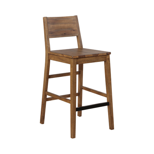 Open Back Bar Stool - Canales Furniture