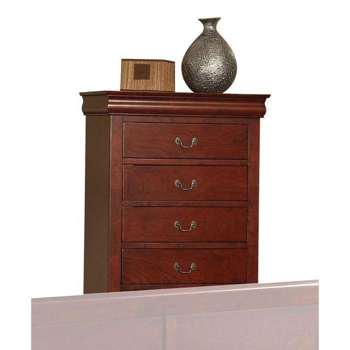 Louis Philippe III Cherry Chest - Canales Furniture