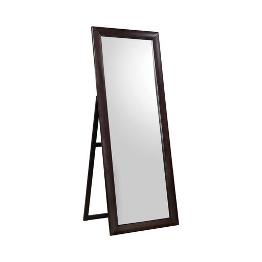 Rectangular Standing Floor Mirror Black - Canales Furniture