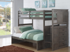 Princeton Bunkbed w/ Built-in Chest - Canales Furniture