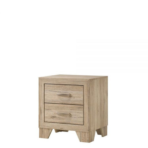 Miquell Natural Nightstand - Canales Furniture