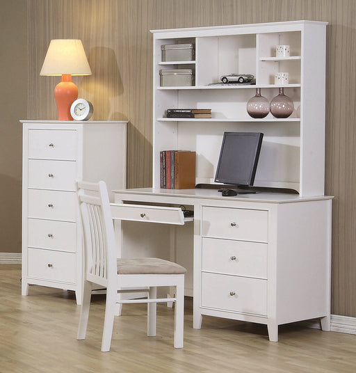 Selena Desk and Hutch - Canales Furniture