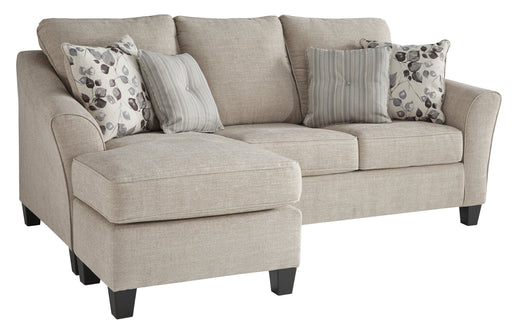 Abney Sofa Chaise Sleeper - Canales Furniture