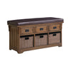 Drawer Storage Bench