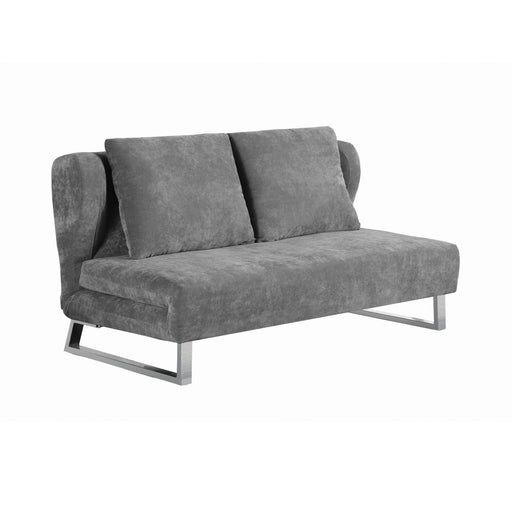 Underwood Tufted Sleeper Sofa Bed Charcoal - Canales Furniture