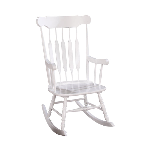 Windsor Back Rocking Chair White - Canales Furniture