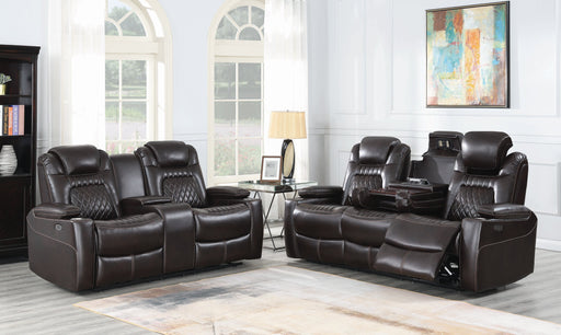 Korbach Power Living Room Set - Canales Furniture