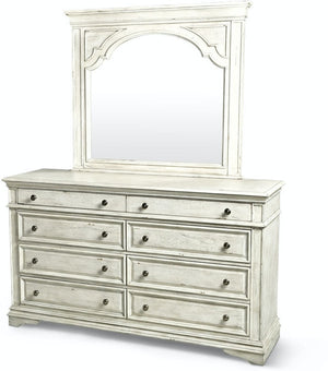 Mansion Dresser and Mirror - Canales Furniture