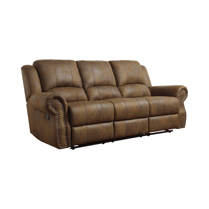 Sir Rawlinson Nailhead Trim Motion Sofa - Canales Furniture