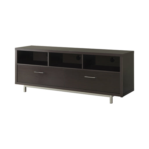 2-Drawer Rectangular TV Console - Canales Furniture