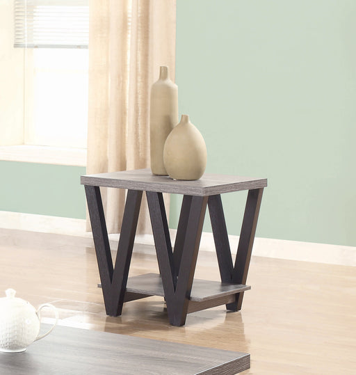 Antique End Table - Canales Furniture