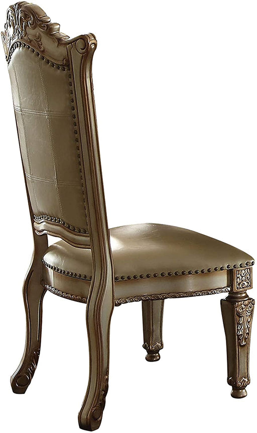 Vendome Gold Side Chair - Canales Furniture