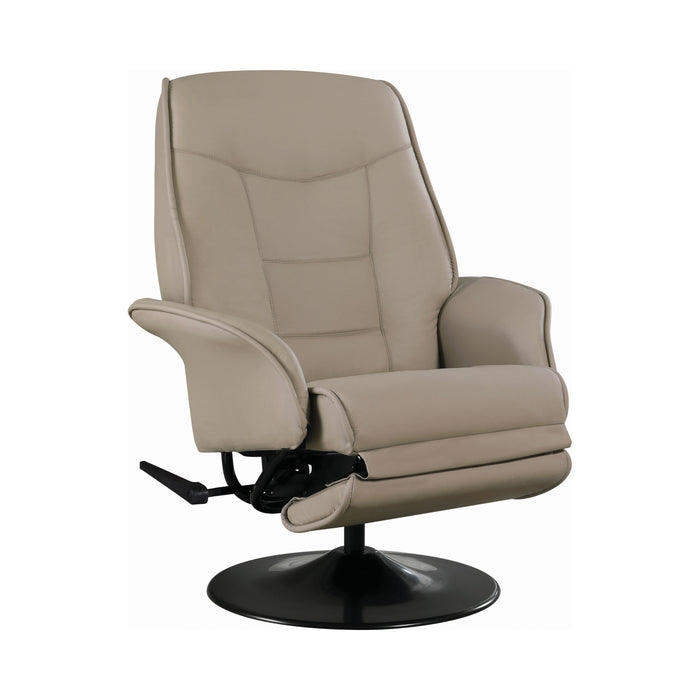 Swivel Recliner With Flared Arm - Canales Furniture