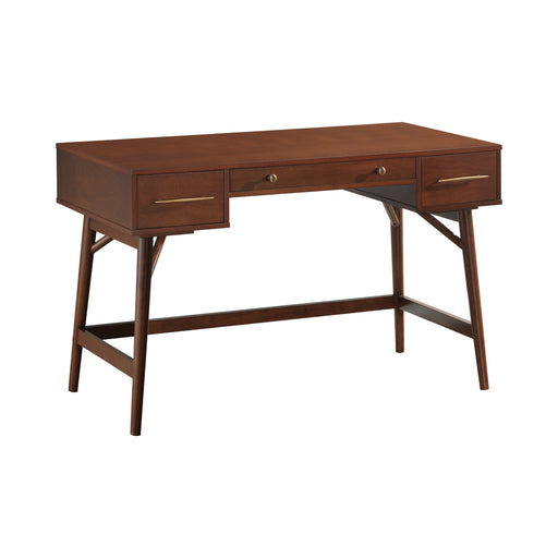 3-Drawer Writing Desk - Canales Furniture