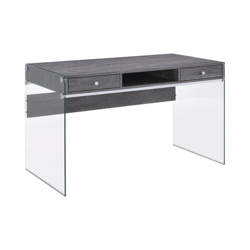 Dobrev 2-Drawer Writing Desk - Canales Furniture