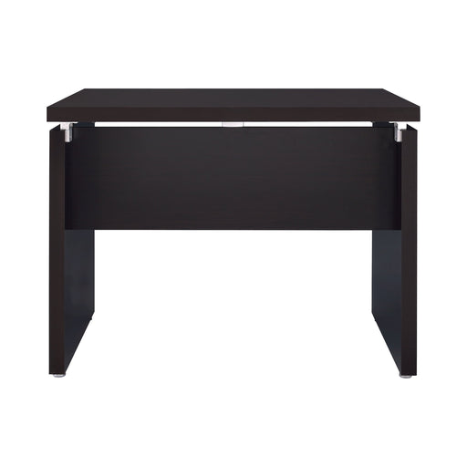 Skylar Extension Desk Cappuccino - Canales Furniture