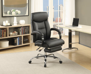 Executive Chair With Chrome Base Office Chair Coaster