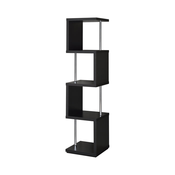 4-Shelf Bookcase - Canales Furniture