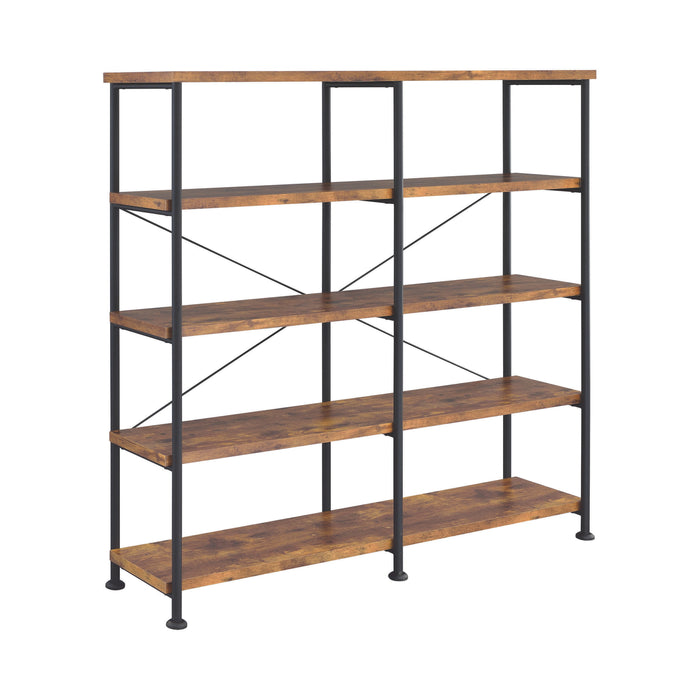 Analiese 4-Shelf Open Bookcase - Canales Furniture