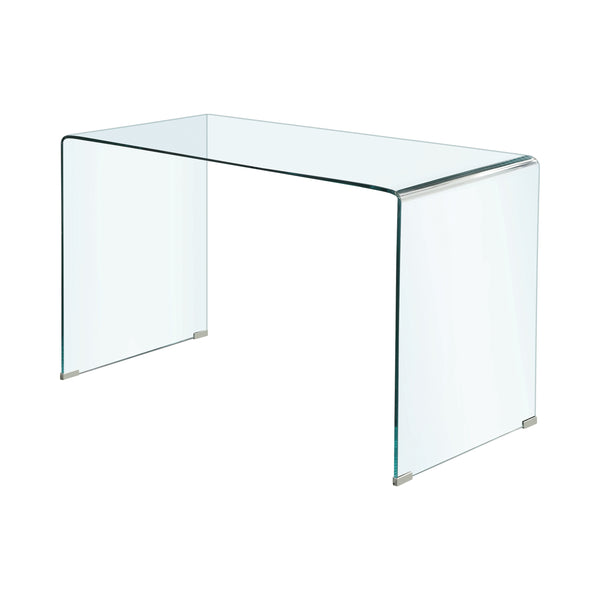 Highsmith Glass Writing Desk Clear - Canales Furniture