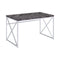 Grimma Writing Desk Rustic Grey Herringbone