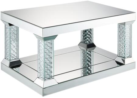 Nysa Mirrored Coffee Table - Canales Furniture