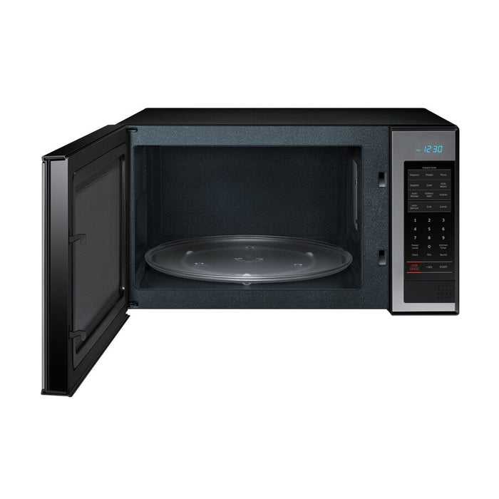 1.4 cu. ft. Countertop Microwave with PowerGrill in Stainless Steel - Canales Furniture