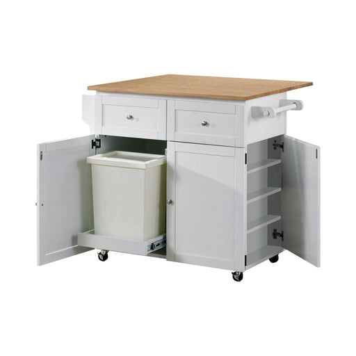 3-Door Kitchen Cart - Canales Furniture
