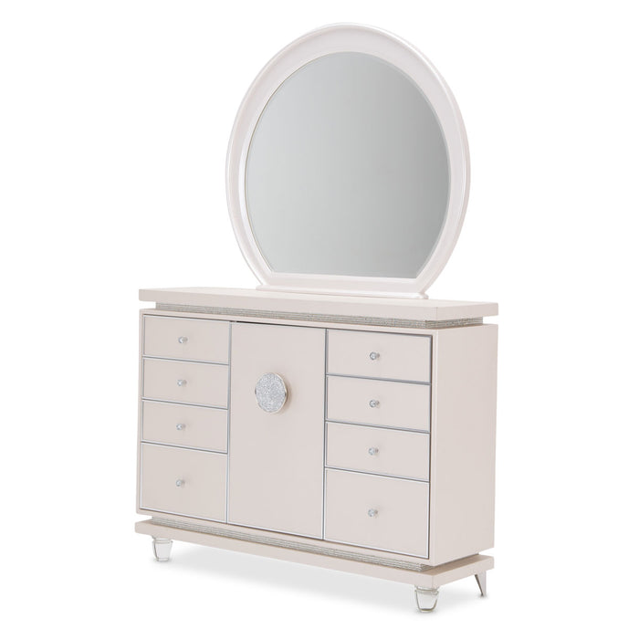 Glimmering Heights Dresser and Mirror - Canales Furniture