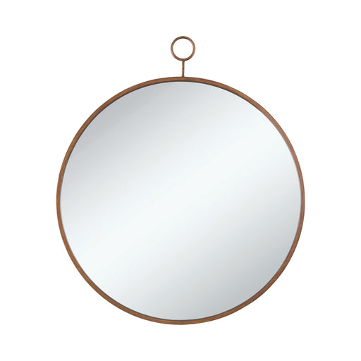 Round Mirror Gold - Canales Furniture