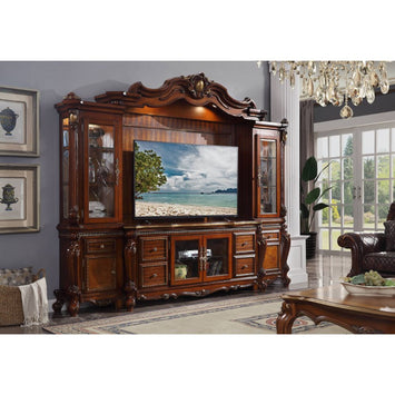 Picardy Cherry Oak Entertainment Center - Canales Furniture