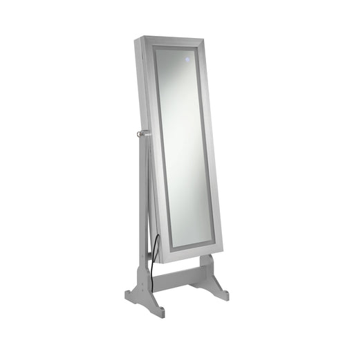 Jewelry Cheval Mirror Silver - Canales Furniture