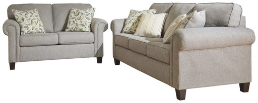 Alandari Signature Design 2-Piece Living Room Set - Canales Furniture