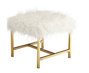 Elissa - White - Stool Stools Ashley