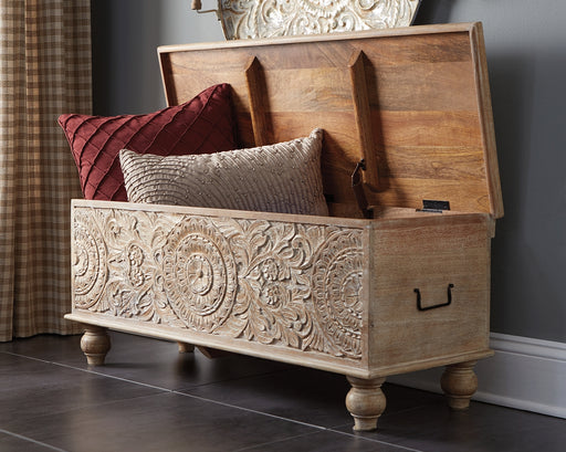 Fossil Ridge Signature Design by Ashley Bench - Canales Furniture