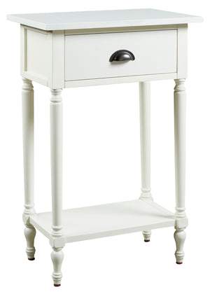 Juinville - White - Accent Table