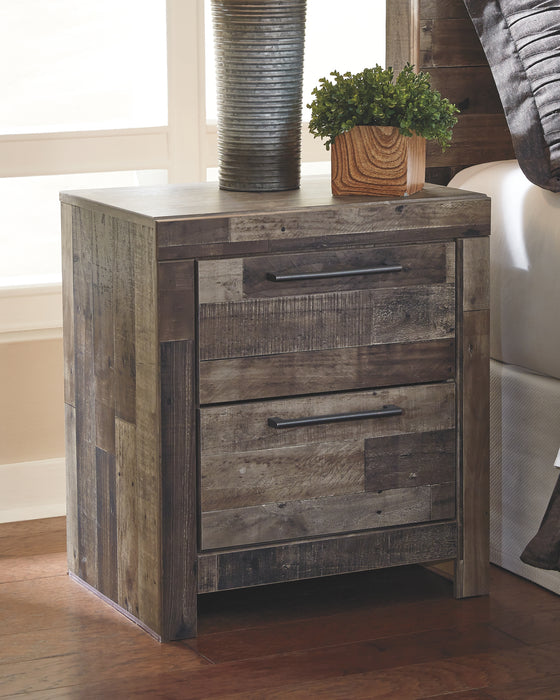 Derekson Benchcraft Nightstand - Canales Furniture