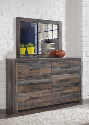 Drystan Dresser and Mirror - Canales Furniture