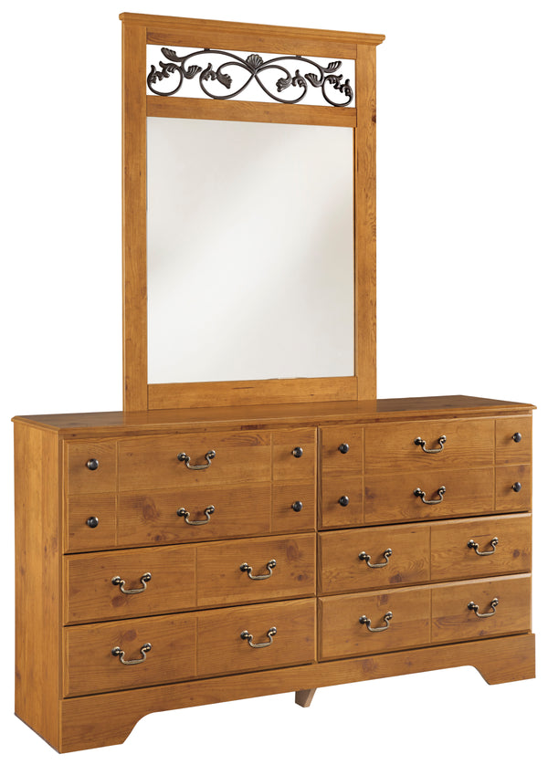 Bittersweet Dresser and Mirror - Canales Furniture