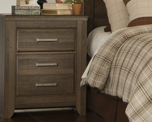 Juararo Signature Design by Ashley Two Drawer Nightstand - Canales Furniture