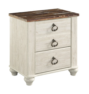 Willowton Nightstand Night Stand Ashley
