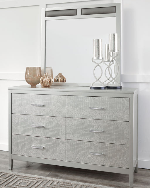 Olivet Signature Design by Ashley Bedroom Mirror - Canales Furniture