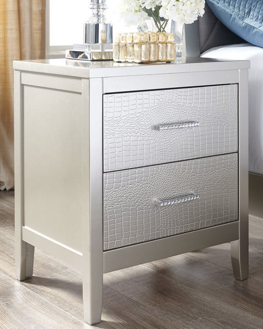Olivet Signature Design by Ashley Nightstand - Canales Furniture