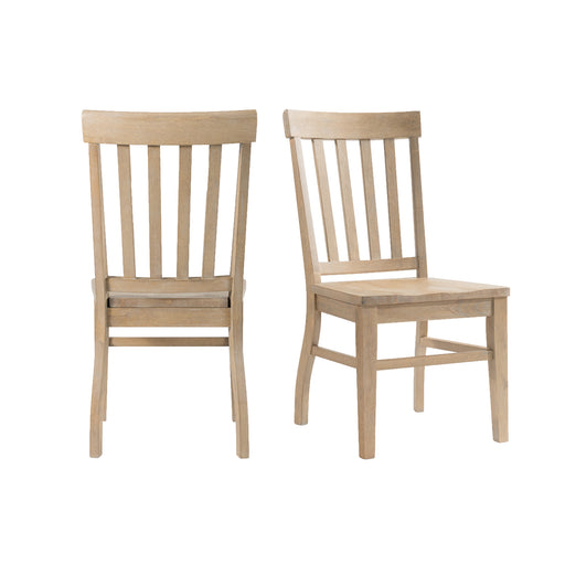 Lakeview Slat Back Side Chair - Canales Furniture