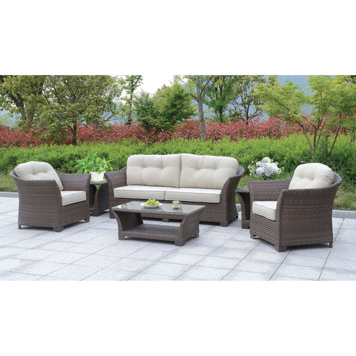 Bowbells Dark Brown 6 Pc. Set w/ Coffee Table & 2 End Tables - Canales Furniture