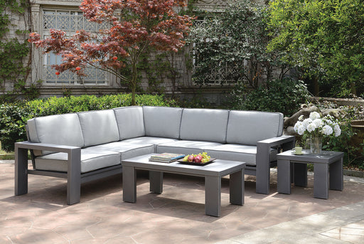 Codington Gray Sectional - Canales Furniture