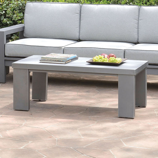 Codington Gray Coffee Table - Canales Furniture